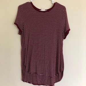 Red/white striped t Shirt